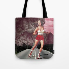 Run!Skate! Tote Bag