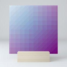 Blend Pixel Color 9 Mini Art Print