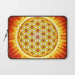 Flower Of Live Sun III Laptop Sleeve