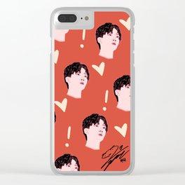 Jeongan Seventeen Clear iPhone Case