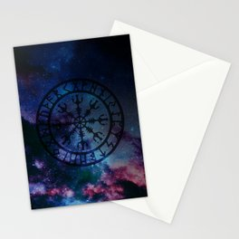 Viking Aegishjalmur - new version Stationery Cards