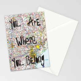 Where You Belong-Houston Stationery Cards