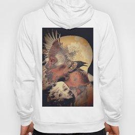 PORTRAIT (Woman and bird) Hoody