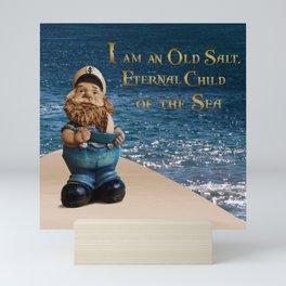 Old Salt - Sailor Mini Art Print