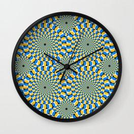 Optical illusions circle Wall Clock
