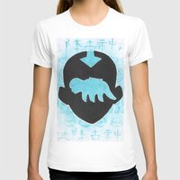 airbender T-shirts featuring The Last Airbender by Carmen McCormick