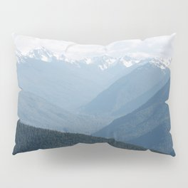 Olympic Mountains Pillow Sham