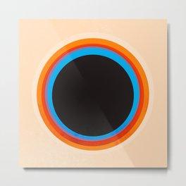 Look at the circle - abstract Metal Print