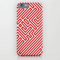 Optical Chaos 02 red Slim Case iPhone 6s
