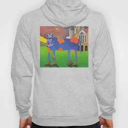 Udderly Frank - Funny Cow Art Hoody