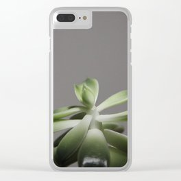 growing plant Clear iPhone Case