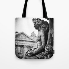 Place de la Concorde Fountain, Paris, France Tote Bag