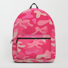 Girly Pink Camouflage Urban Explorer Camo Pattern Backpack