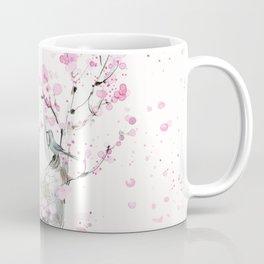 Cherry Blossoms And Birds Coffee Mug
