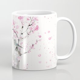 Cherry Blossoms And Birds Coffee Mug