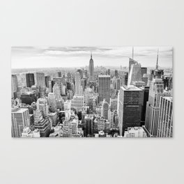 Monochrome NYC Canvas Print