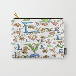 Love Joy Happiness Carry-All Pouch