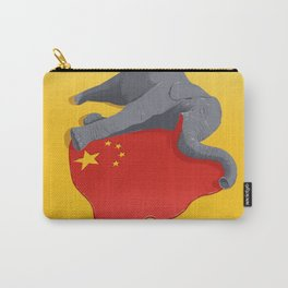Stop Ivory Trade Carry-All Pouch