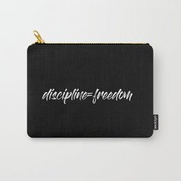 Discipline=Freedom Carry-All Pouch