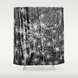 And So They Danced Shower Curtain