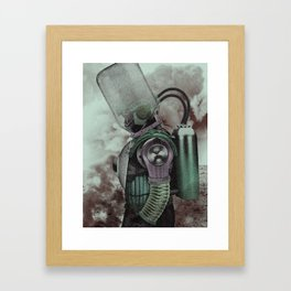 The Fallen Hero Framed Art Print