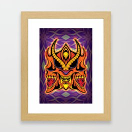 God of Morbidity Framed Art Print