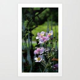 prettiest pink flowers Art Print
