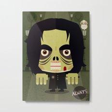 Alan Zombie Metal Print
