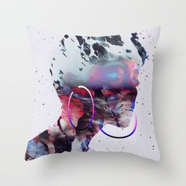 Le regard de Dieu Throw Pillow