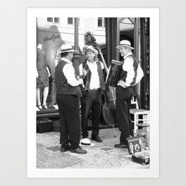 Entertaining in Vienna Art Print