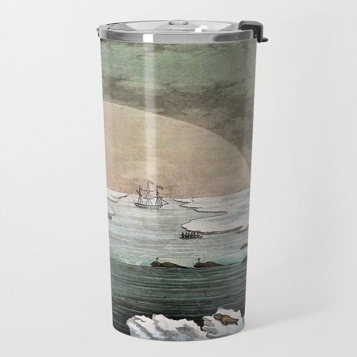 Paolo Fumagalli - The effect of the Sun Shining at Midnight (1830) Travel Mug
