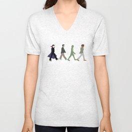 Abbey Road Monsters Unisex V-Neck