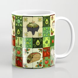 Mexican Restaurant Tiles Coffee Mug