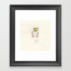 I'm not a banana-I Framed Art Print