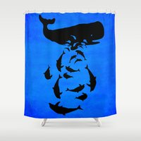 under the sea Shower Curtains featuring Under the sea by Durro