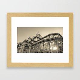 Architecture for the light Framed Art Print
