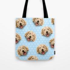 happy dog Tote Bag