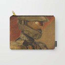 Halo Master Chief Spartan 117 Class Photo General Painting Fan Art Carry-All Pouch