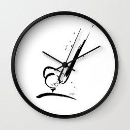 Golf Club by Kathy Morton Stanion Wall Clock