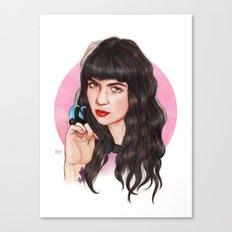 Grimes III  Canvas Print