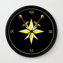 The Eldritch Trickster Wall Clock