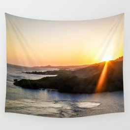 Roatan Sunset Wall Tapestry