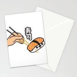 Sushi kanji Stationery Cards