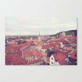 Prague Czech Republic Photography Rome Italy Sale Wall Decor Art Square Print Set Canvas Print