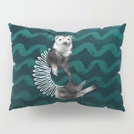 Ferret Slinky Pillow Sham