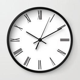 Modern Romans Wall Clock