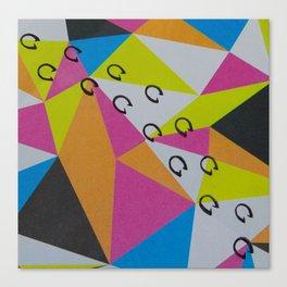 Trot Canvas Print