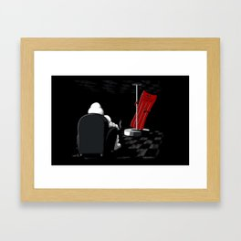 Michelin Striptease Framed Art Print