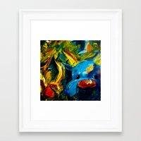 lil bub Framed Art Prints featuring Bub by Francis Calimlim