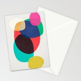 Shapes Abstract 19 Stationery Cards